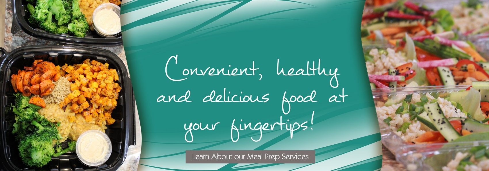 Convenient, healthy and delicious food at your fingertips! click here to visit our cafe!