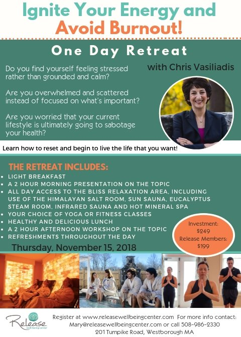 Ignite Your Light Yoga Workshop For >> Release Retreats And The 5 Pillars Of Wellness Release Well Being