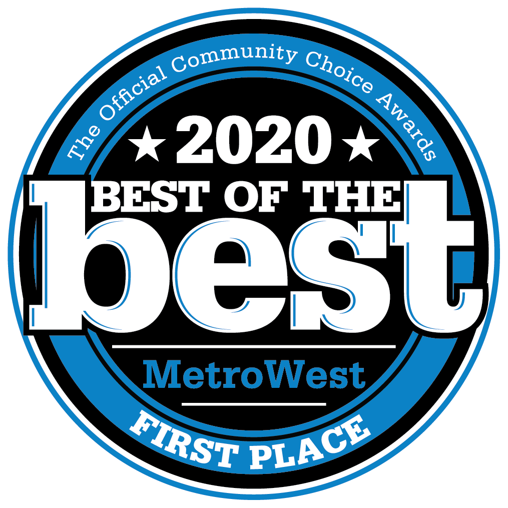 Best of the Best MetroWest First Place 2020