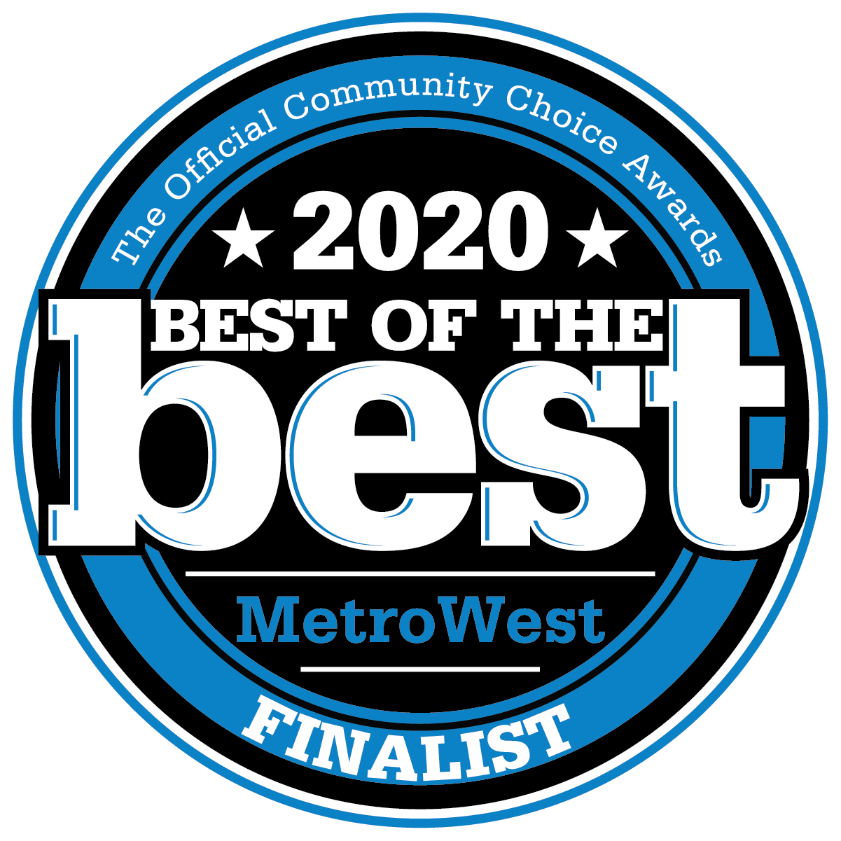 Best of the Best MetroWest Finalist 2020